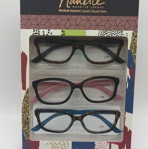Nanette Lepore Reading Glasses +2.50 Readers